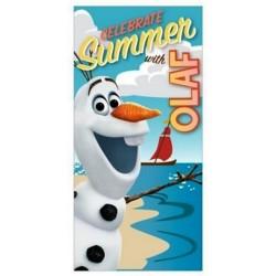 Osuška s oblíbeným sněhulákem Olafem