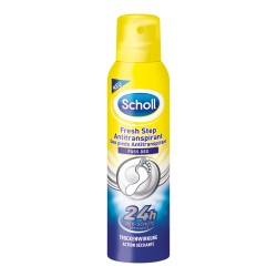 Scholl Fresh Step - Antiperspirant na nohy, sprej, 150 ml