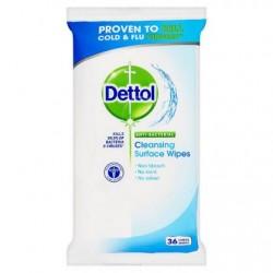 Čistící antibakteriální ubrousky Dettol 36ks - Na povrchy