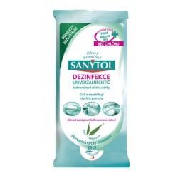 Čistící dezinfekční ubrousky Sanytol 2x24ks - Na povrchy