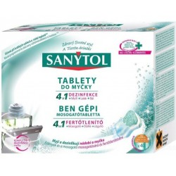 Sanytol - Tablety do myčky 4v1, 40 ks