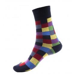 Unisex ponožky - Crazy obdélníky