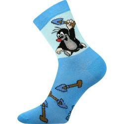Dětské ponožky - Krteček - světle modré - Boma