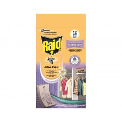 Raid - proti molům aktivní závěs čerstvé květy - 4 ks v balení