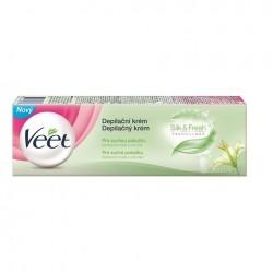 Depilační krém pro suchou pokožku - 100 ml - Veet