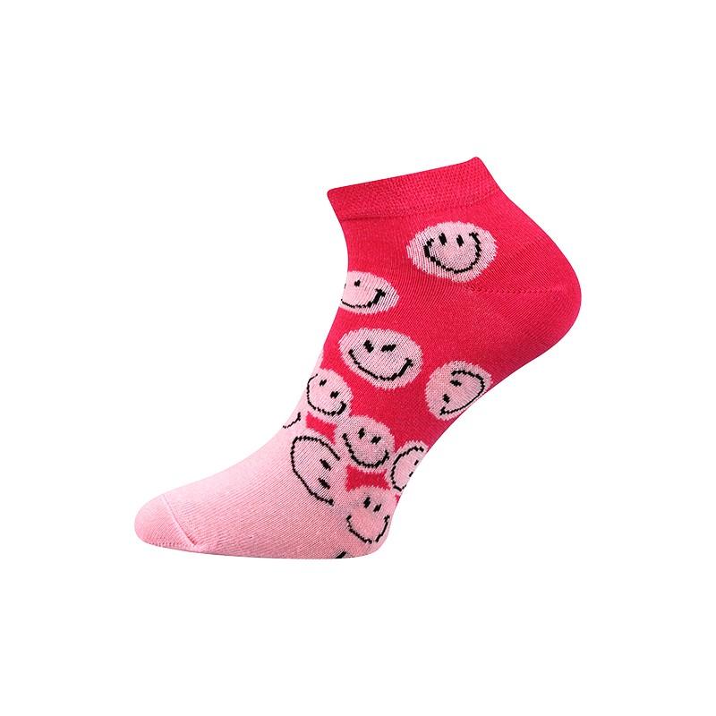 Dámské kotníkové ponožky - Smajlíci - NAAU CZ 7356107ed8