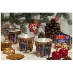Vonná svíčka ve skle - Kouzlo vánoc perníček, 115g