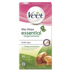 Veet® voskové pásky Natural Inspirations™- Arganový olej