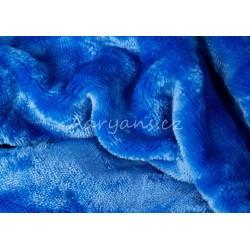 Mikroflanelové prostěradlo - modré - Aaryans