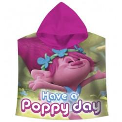 Pončo - Trollové Poppy 60x120cm