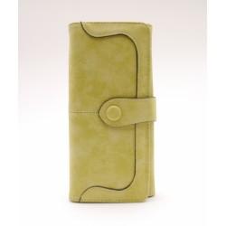 Dámská peněženka - zeleno - žlutá