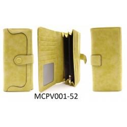 Dámská peněženka - žluto - zelená