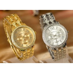 Dámské hodinky Geneva s crystaly Elements