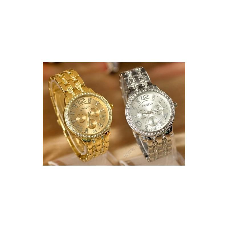 Dámské hodinky Geneva s crystaly Elements - NAAU CZ 604c78b772