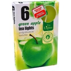 Čajové svíčky – Zelené jablko - 6 ks - Admit