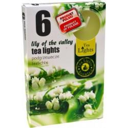 Čajové svíčky 6 kusů – Konvalinka
