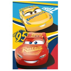 Dětská fleecová deka 100x150 cm - Cars 3