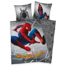Bavlněné povlečení na jednolůžko - Spiderman, šedé