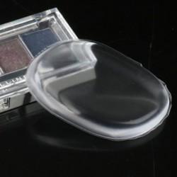 Silikonový polštářek na nanášení make-upu - průhledný