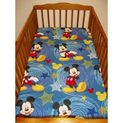 Dětské prostěradlo (90x155) - Mickey Mouse