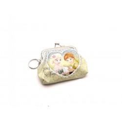 Dětská peněženka s kroužkem na klíče - Frozen
