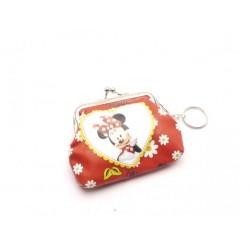 Dětská peněženka s kroužkem na klíče Minnie