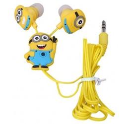 Špuntová sluchátka - žlutý panáček