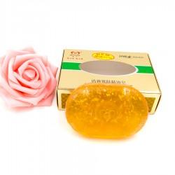 Luxusní Korejské zlaté mýdlo s 24 karátovým zlatem