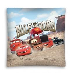 Povlak na polštářek 40x40cm - Cars 3 cesta, micro