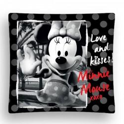 Povlak na polštářek 40x40cm -  Minnie black, micro
