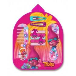 Sada vlasových doplňků v batůžku Trollové Poppy