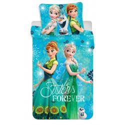 Bavlněné povlečení na jednolůžko - Ledové Království Sister forever