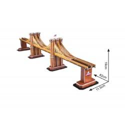 3D Puzzle - Brooklynský most - 64 dílků