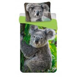 Bavlněné povlečení na jednolůžko - Koala