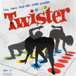 TWISTER - Zábavná společenská hra