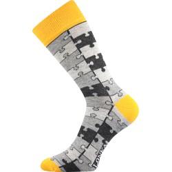 Unisex ponožky - Crazy puzzle - Lonka