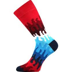 Unisex ponožky - Crazy vlny - Lonka