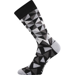 Unisex ponožky - Crazy trojúhelníky - Lonka