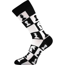Unisex ponožky - Crazy šachy - Lonka