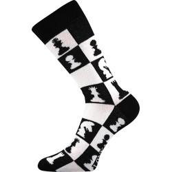 Unisex ponožky - Crazy šachy