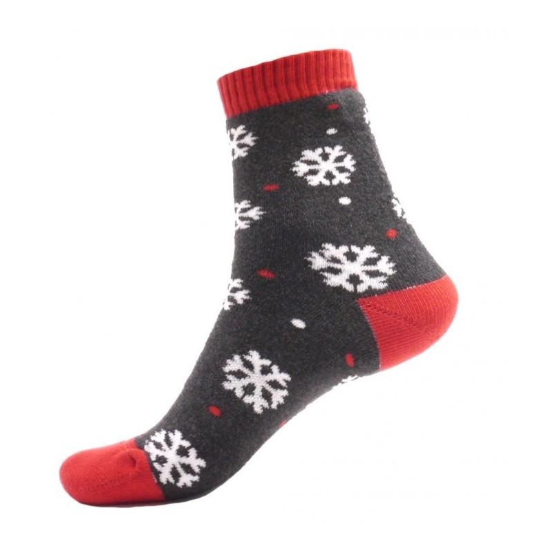 Dámské termo ponožky - Vločky - NAAU CZ b08eb683d3