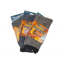 Pánské MEGA termo ponožky M1591 - 3 páry