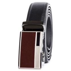 Pánský kožený opasek, 35mm