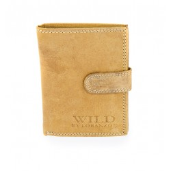 Pánská peněženka Wild by Loranzo - pískovec