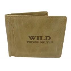 Pánská peněženka Wild Things only - pískovec