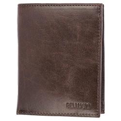 Pánská peněženka Bellugio - čokoládově hnědá
