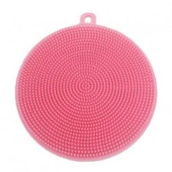 Silikonová houbička na nádobí - růžová