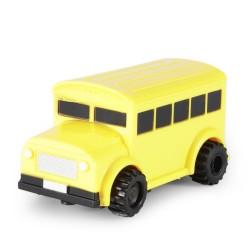 Tužka pro nakreslení vlastní autodráhy se žlutým autobusem