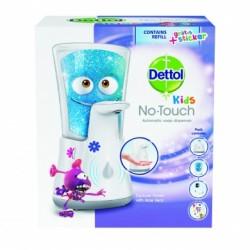 Dettol Kids - bezdotykový dávkovač mýdla - Dobrodruh, 250ml