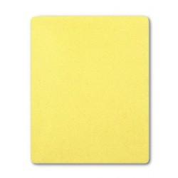 Froté prostěradlo do postýlky - žluté - 60 x 120 cm - New Baby